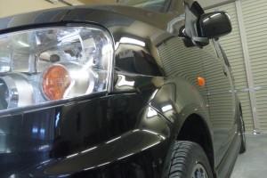 ekワゴン  フェンダー  板金塗装       豊田市    板金塗装