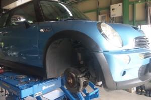 BMWミニ ステアリングセンサー交換                                 豊田市 BMWミニ修理