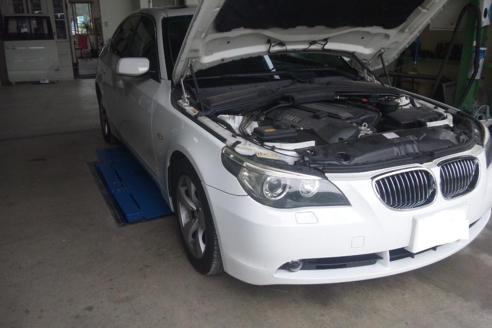E60 パッド交換       BMW修理 豊田市