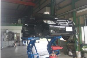 ベンツ B200 ドライブシャフトブーツ交換   ベンツ修理 豊田市