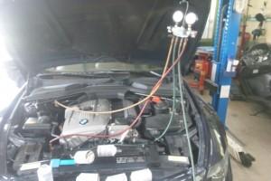 BMW  E63  エアコン効きが悪い   BMW修理 豊田市