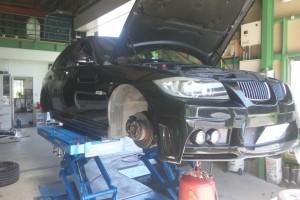 BMW E90車検整備      豊田市 BMW車検 修理