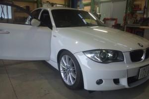 BMW 120 ステアリングセンサー交換&車検整備    BMW修理 豊田市