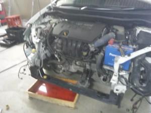 BMW 1シリーズ  バンパー修理    豊田市   板金塗装