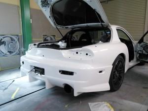 RX-7 バンパー塗装   豊田市   板金塗装