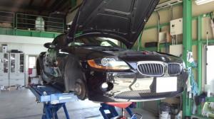 BMW Z4 車検整備                  豊田市 BMW車検 修理