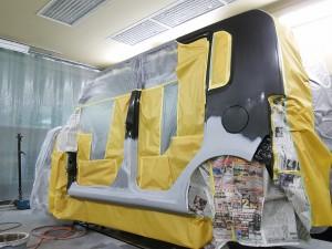トヨタ ピクシス ダイハツ コンテ  塗装    豊田市   板金塗装