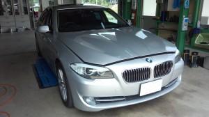 BMW 5シリーズ F10 車検&走行中TV見えるように      BMW車検 豊田市
