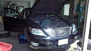 レクサス LS460車検 BMW3シリーズ1年点検など