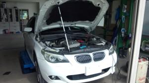 BMW E60 エンジン始動不可 セルモーター交換