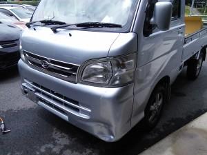 軽トラック 板金 修理       豊田市   板金塗装