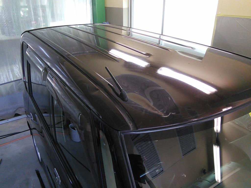 タント へこみ修理 タイミングベルト ターボ交換   豊田市   板金塗装