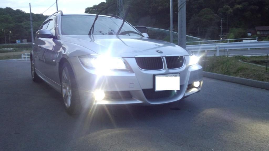 BMW E91 LED加工 コーディングなど           BMW修理 豊田市