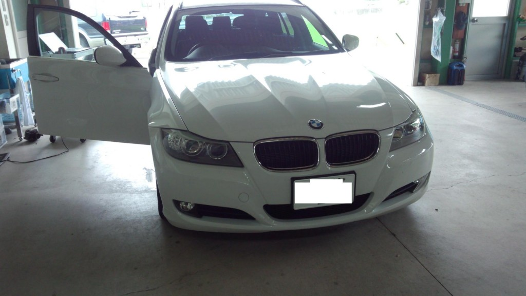 BMW E91 インジェクター交換             BMW修理 豊田市