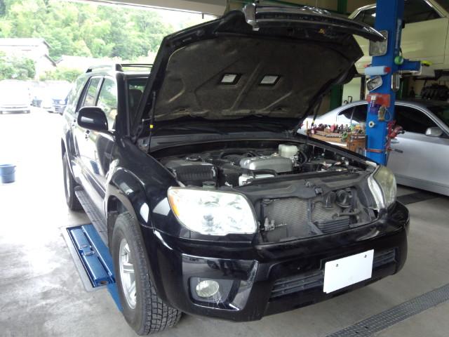 国産車車検&一般整備 トヨタ4ランナー始動不能など