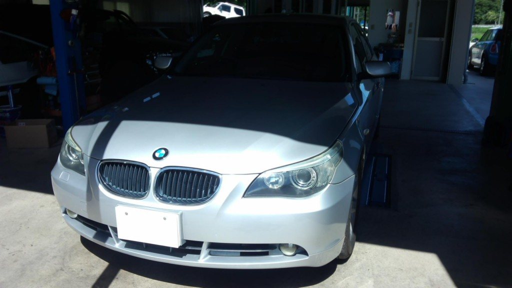 BMW E60 走行中息継ぎ エンジン不調   ヘッドライト曇り修理        豊田市 BMW修理
