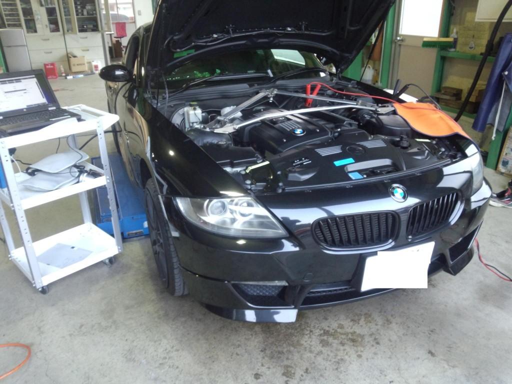 BMW Z4 クーペ オーバーヒート??         BMW修理 豊田市