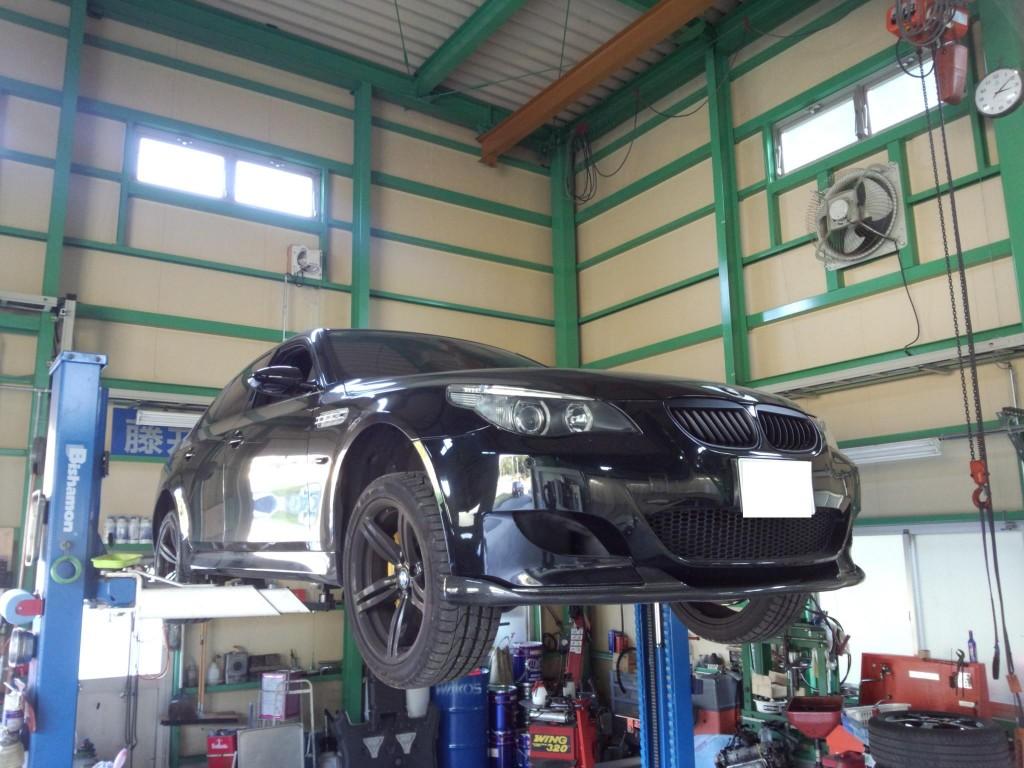 BMW M5 SMGクラッチオーバーホール  AUTELマキシシスにて初期化     豊田市 BMW修理