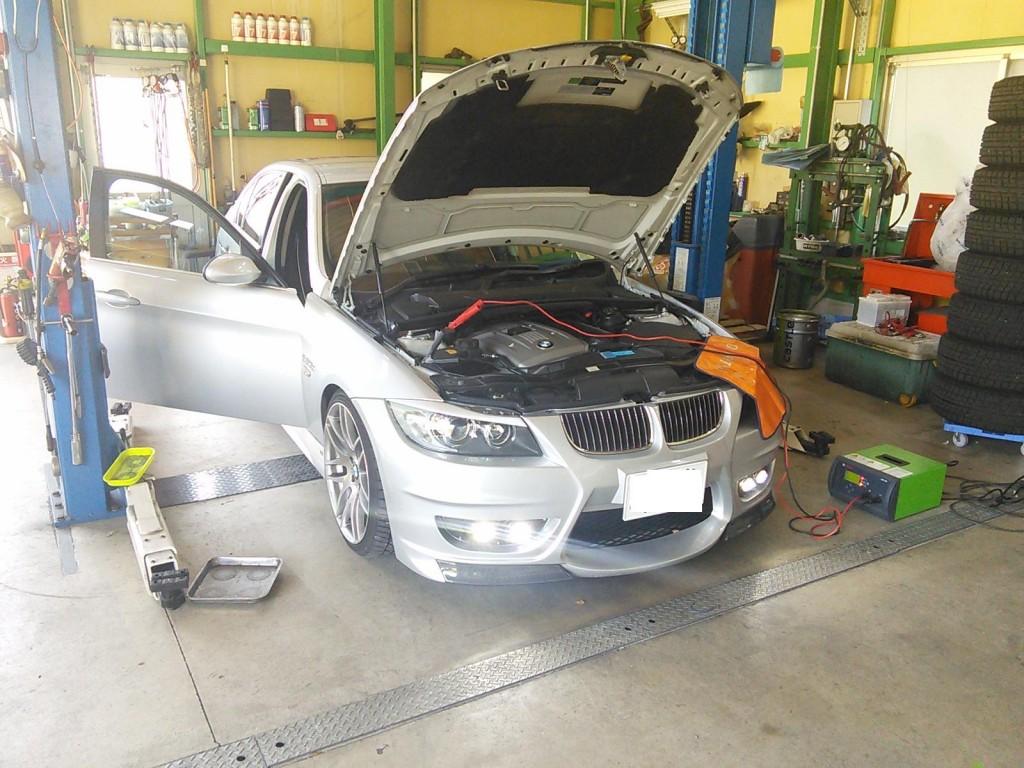 BMW E90 エンジンかからなくなる??  メカトロASSY交換          BMW修理 豊田市