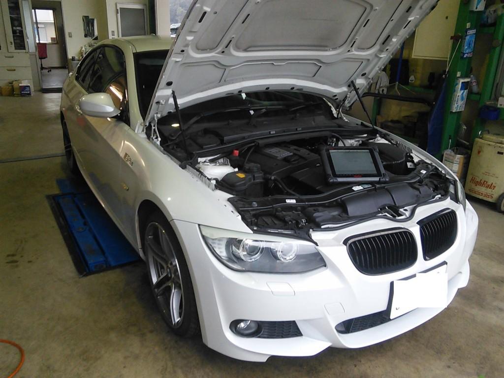 BMW E91 車検&ナビデータ更新  E46車検       BMW車検 豊田市