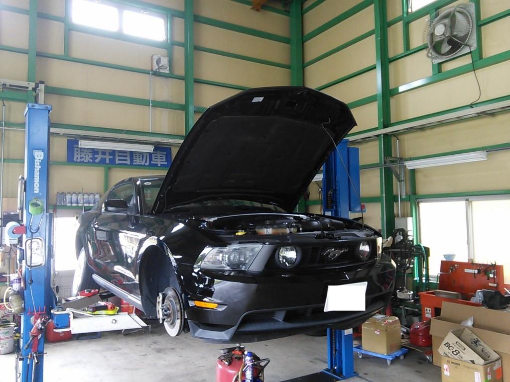 フォード マスタングGT 車検              フォード修理 豊田市