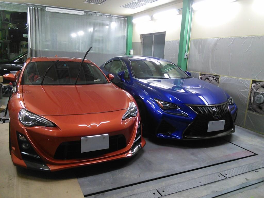 久しぶりの平日ブログ。 パッソ バンパー修理   豊田市  板金塗装
