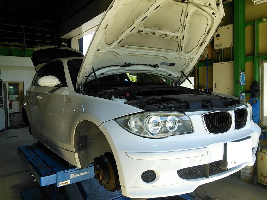 BMW 116 ブレーキメンテ Snap-on PS134 PRO施工 大活躍です!(^^)!