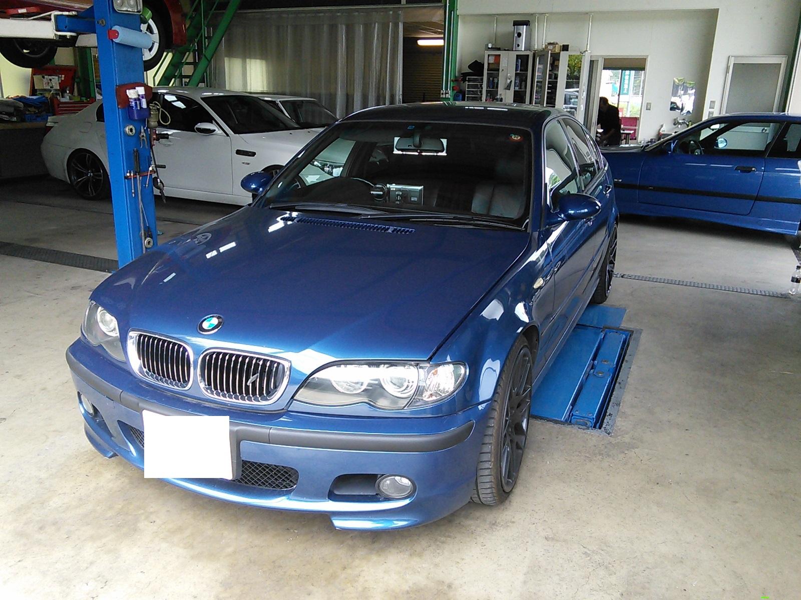 BMW E46  ASCユニット交換 コーディング