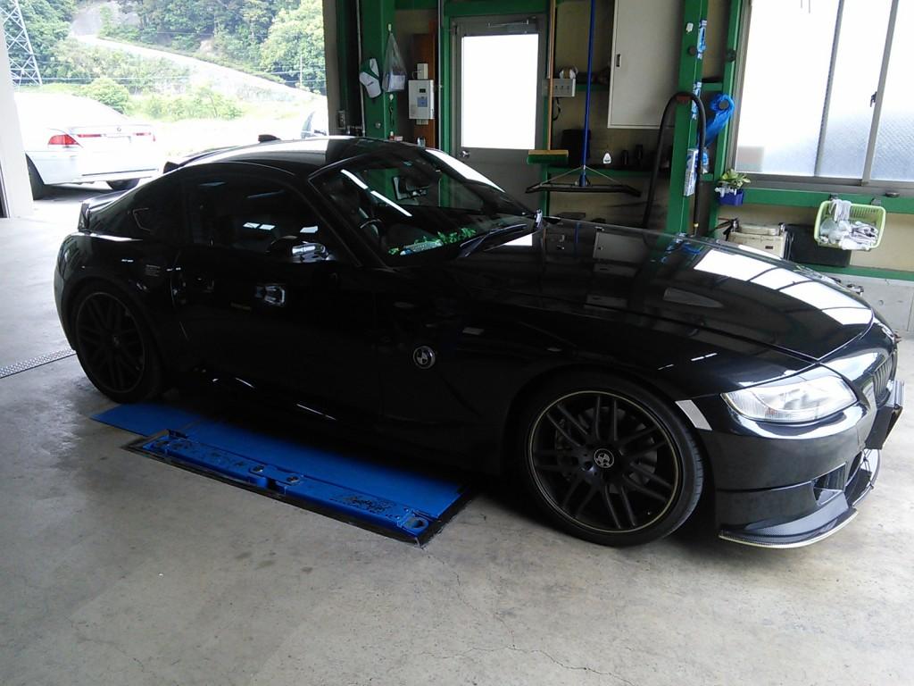 BMW Z4 アウディTT 車検整備&AT(DSG)オイル交換
