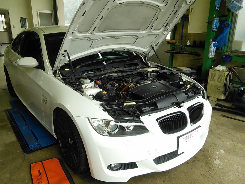 BMW E90 エンジン吹けない? エキセントリックセンサー故障