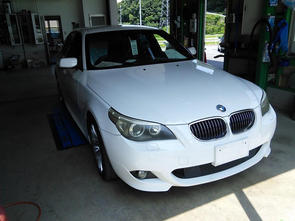 BMW E60 ATチェックランプ点灯 ポルシェパナメーラエンジンチェック点灯