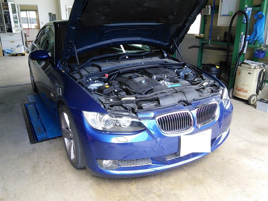 BMW E92 エンスト アイドリング不調??  リプロ 初期化などで改善