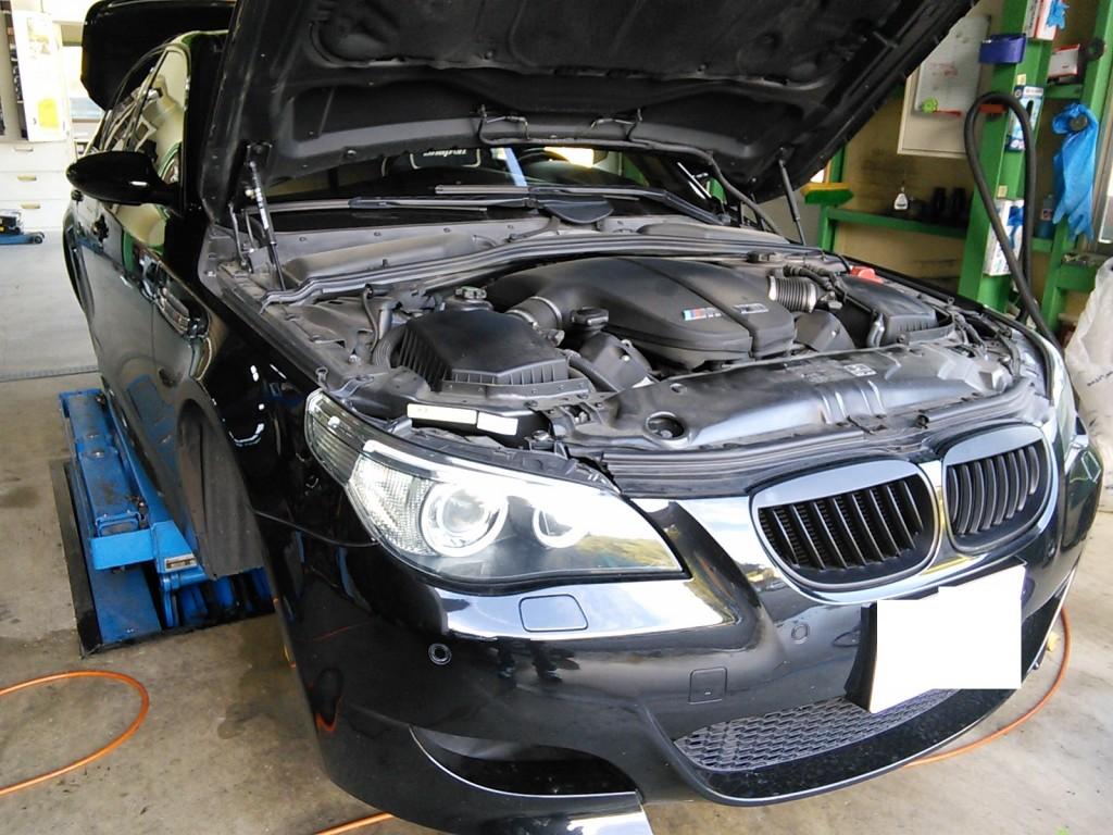 BMW M5 車検 その他車検など 国産車もたくさん入庫いただいてます