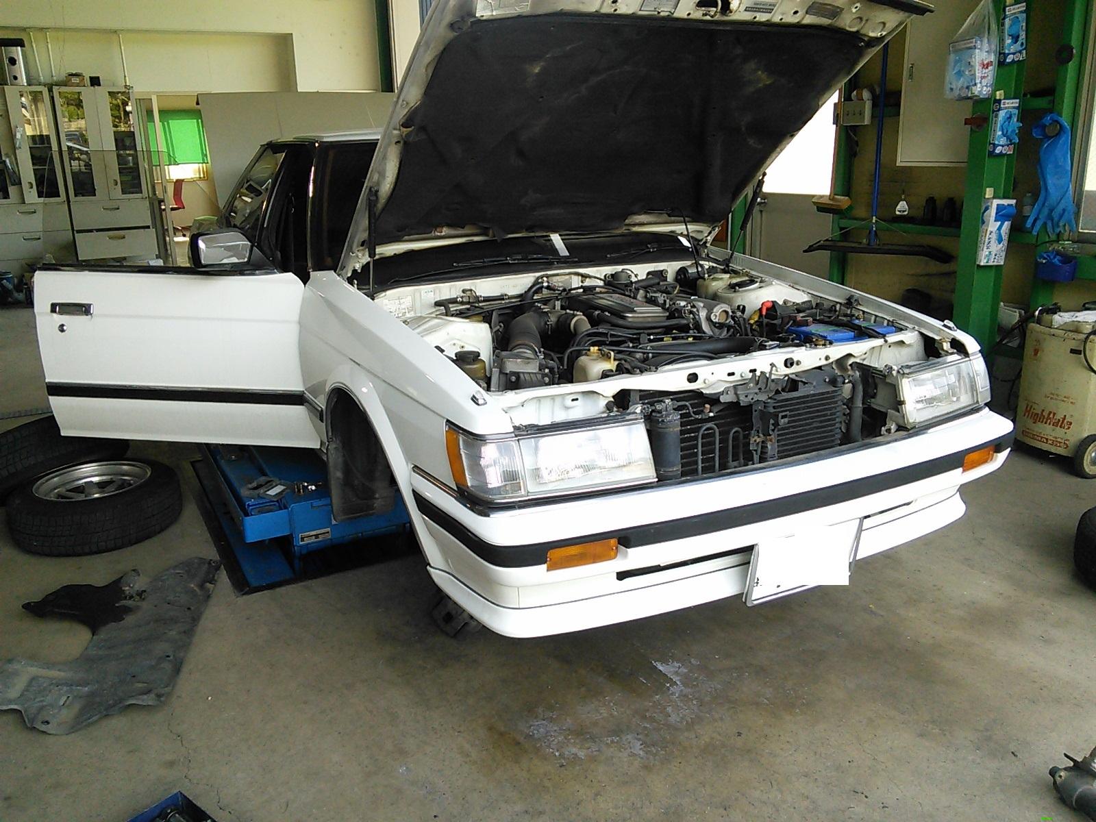 GX71マークⅡ  AT3速固定?修理 車高調作成