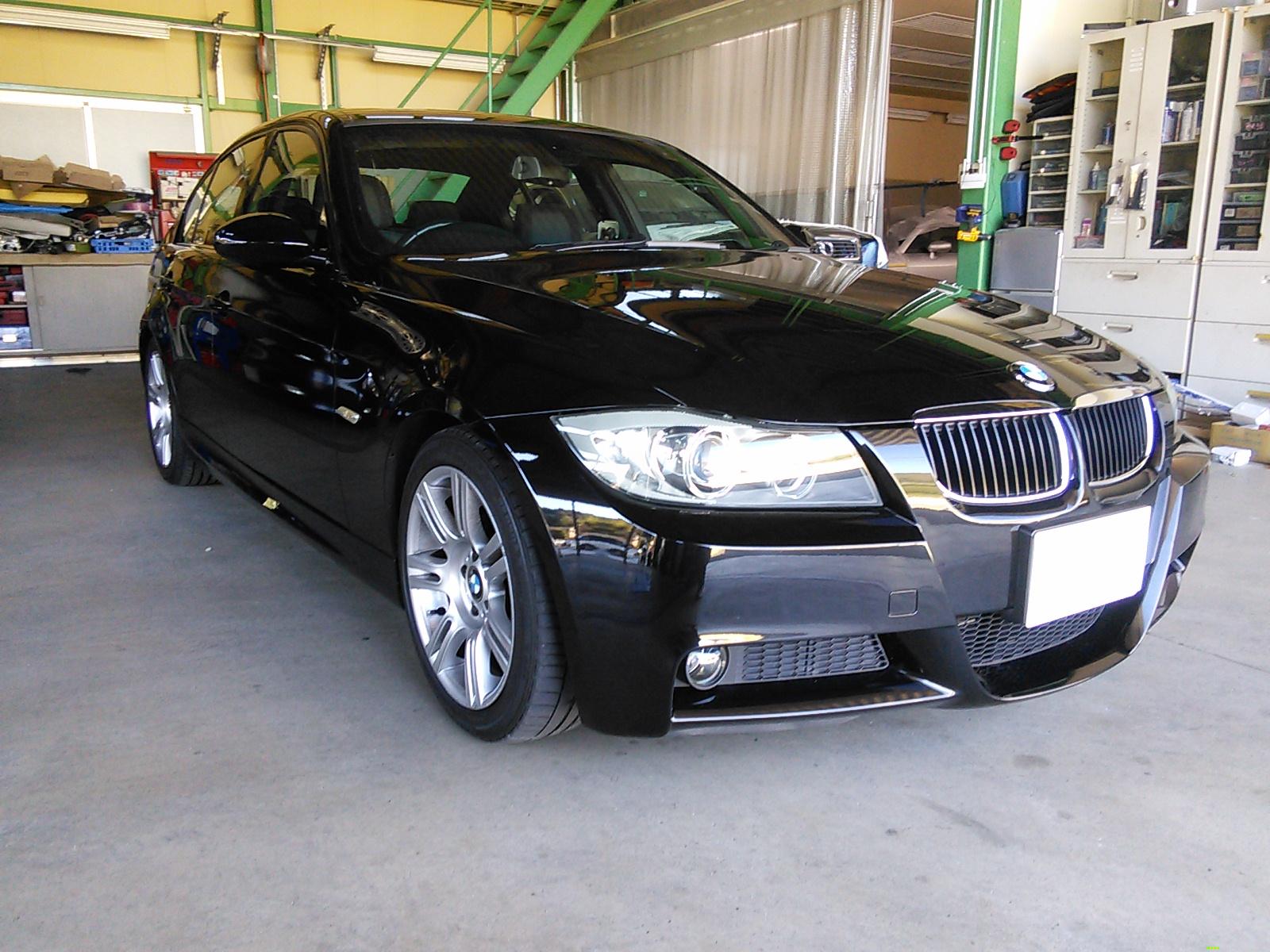 BMW  サイドステップ キズ へこみ 修理  豊田市  板金塗装