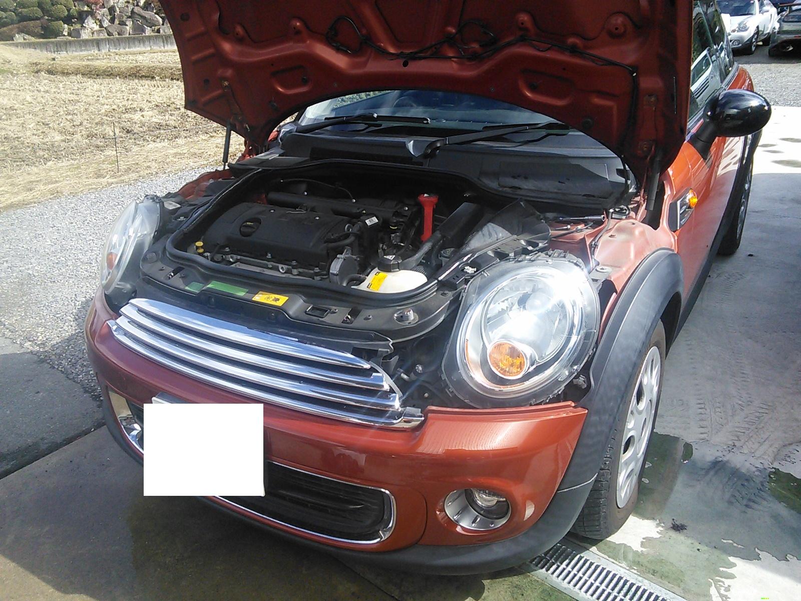 BMWミニ エンジンかかり悪い    豊田市 BMWミニ修理