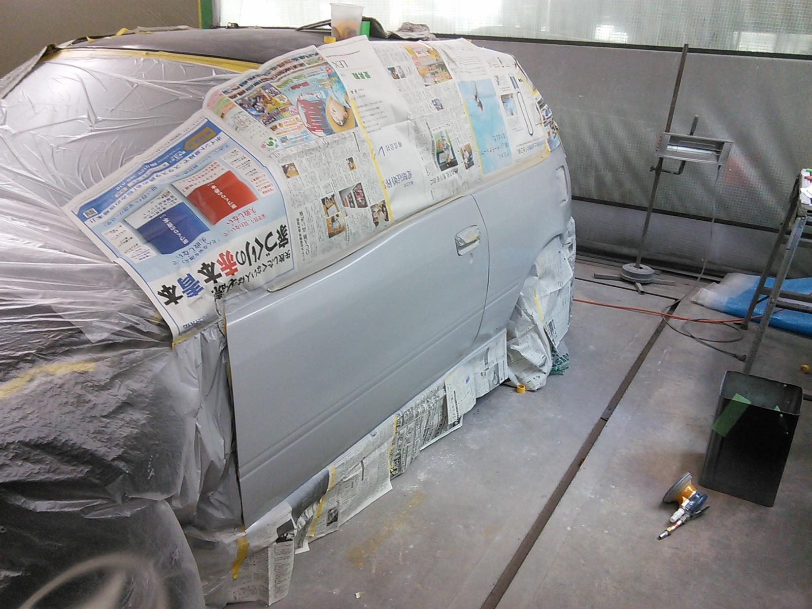 全塗装 スターレット EP91 その3  豊田市  板金塗装