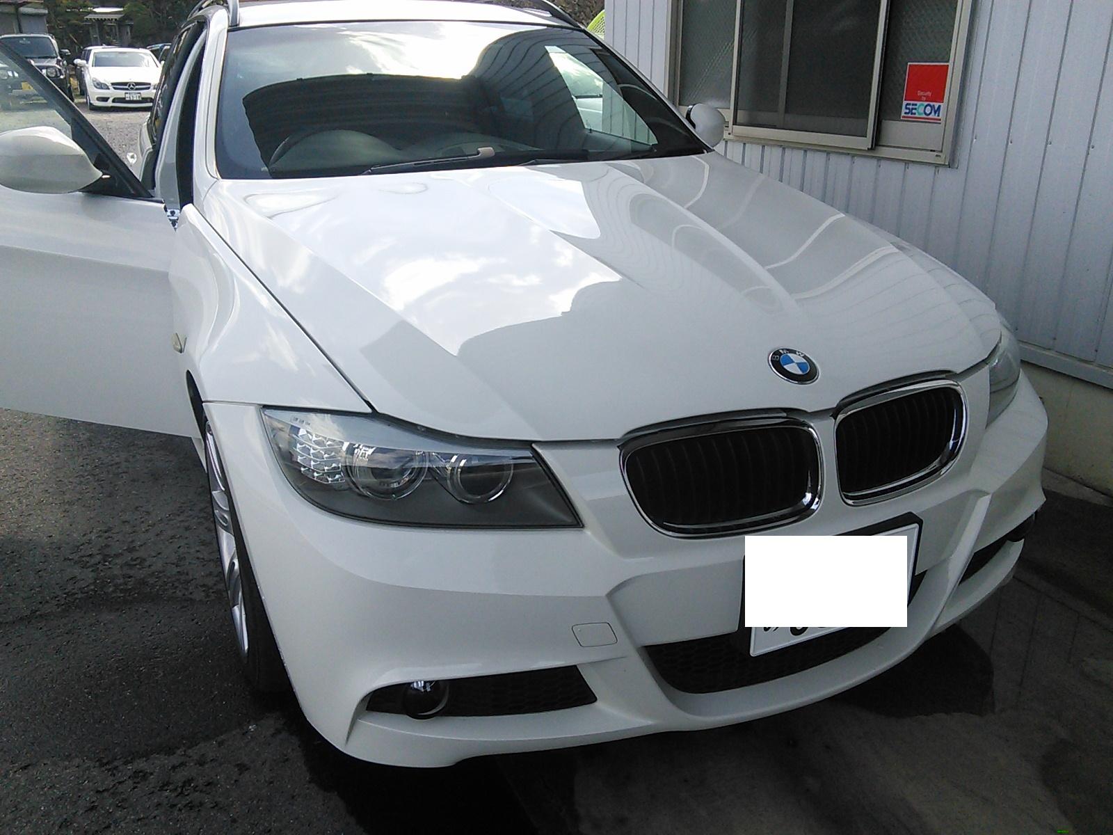 BMW E91 ナビ動かない CICユニット交換 ナビ更新2017