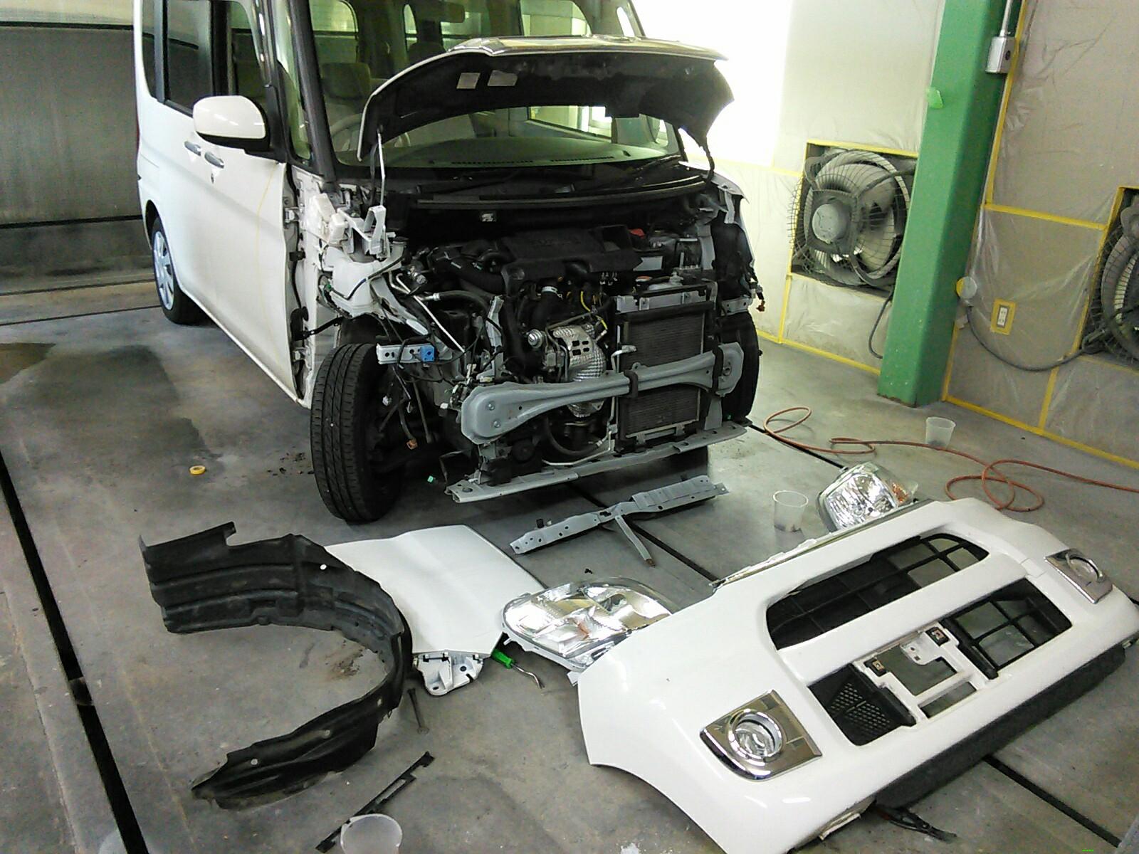 板金塗装 いろいろな事故 修理 改造 加工 カスタム  豊田市