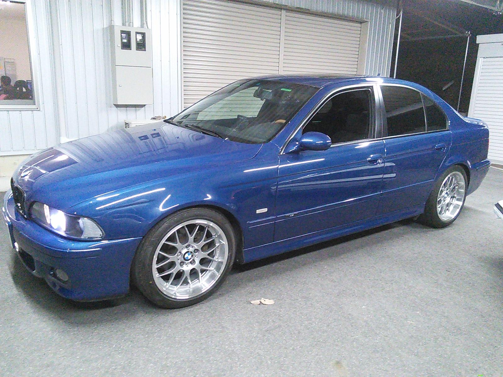 BMW 5シリーズ E39 全塗装 その1   豊田市  板金塗装
