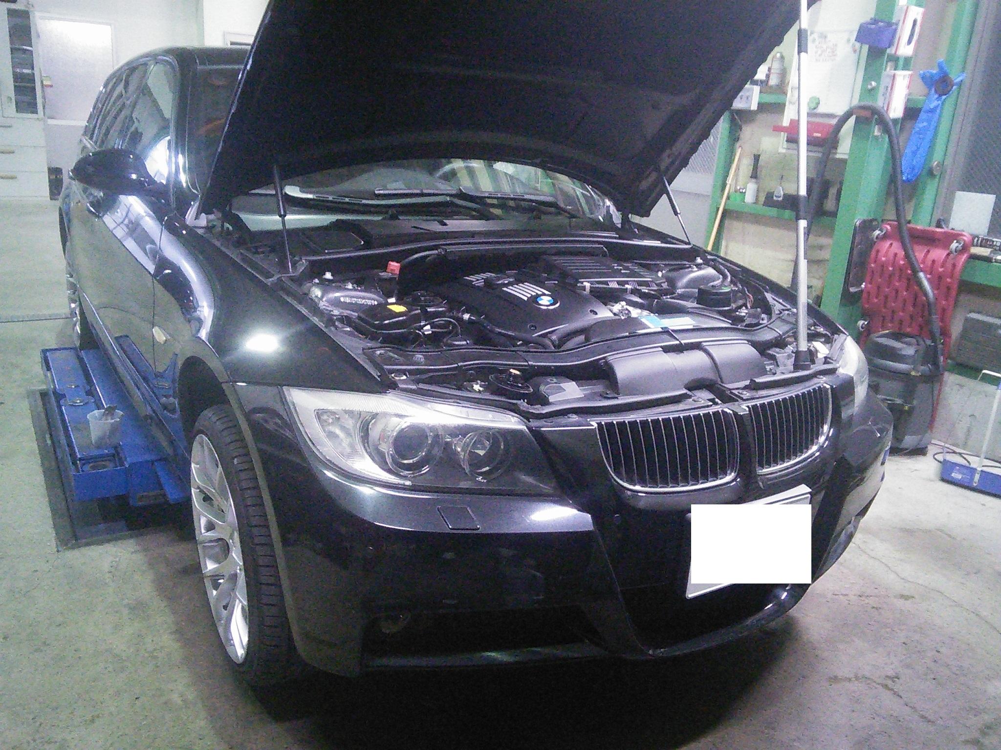 BMW E91 335 エンジン不調 直噴インジェクター交換