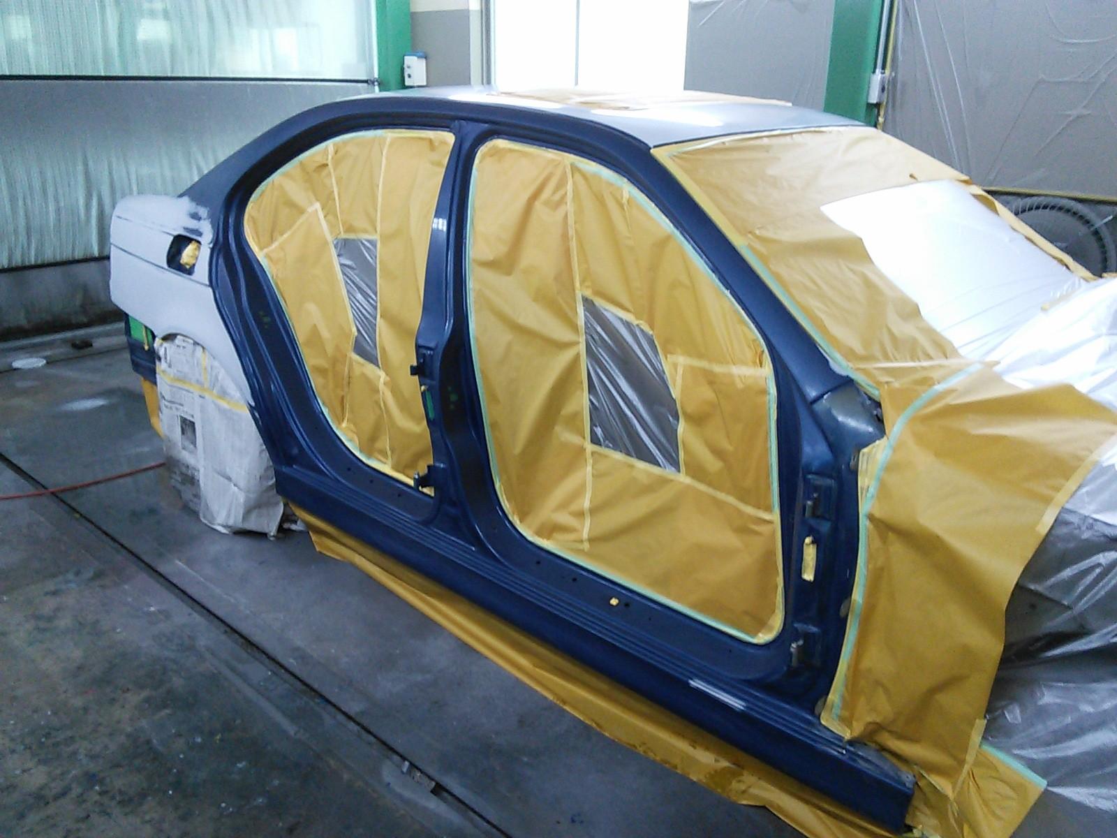 BMW 5シリーズ E39 全塗装 その4  豊田市 板金塗装