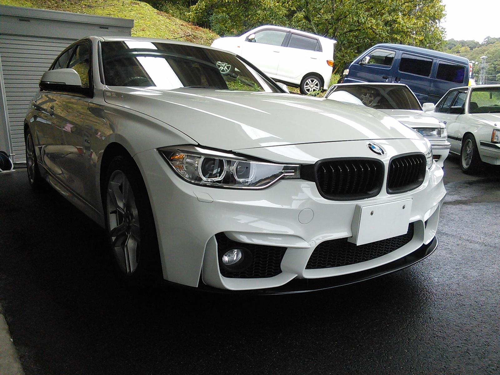 BMW F30 320d エンジン突然かからなくなった F11警告灯複数点灯