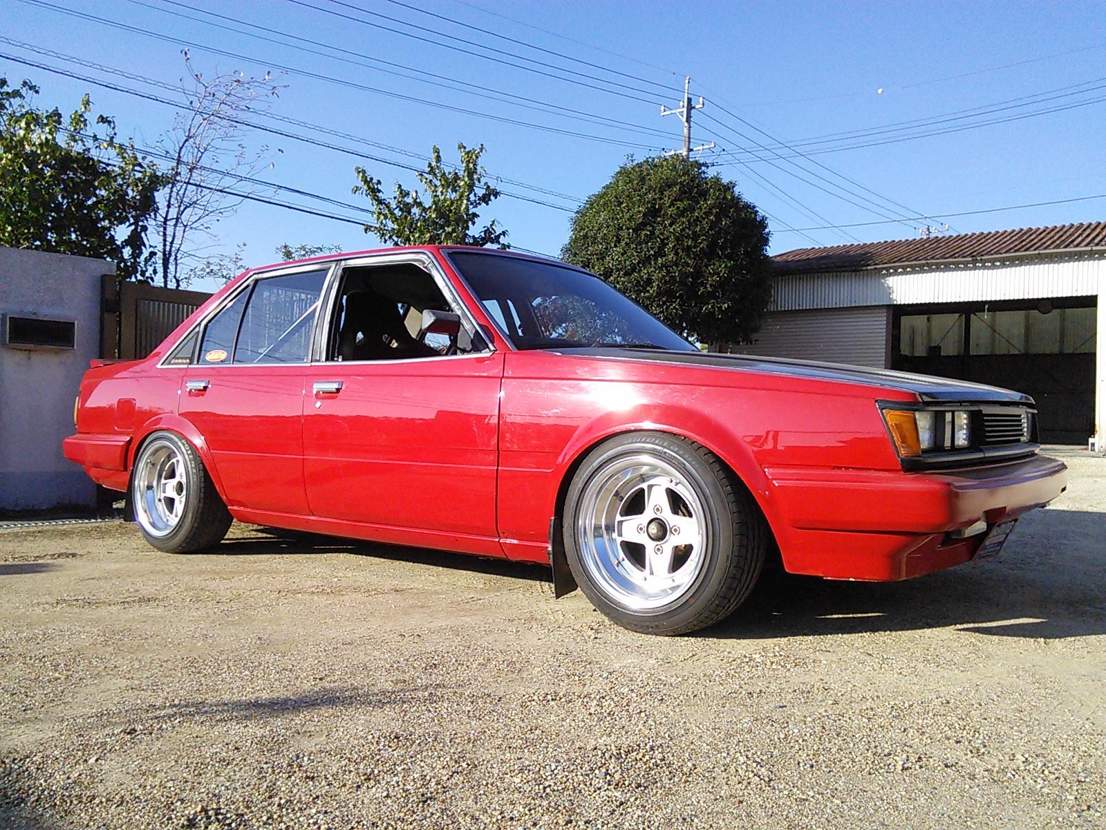 旧車ミーティングに行って来ました。 カスタム ラパン バンパー交換 豊田市  板金塗装