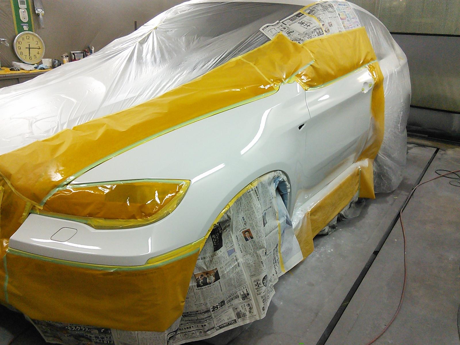 BMW X6  ぐるっと一回り小傷修理 今年 出来た傷は今年のうちに 豊田市  板金塗装
