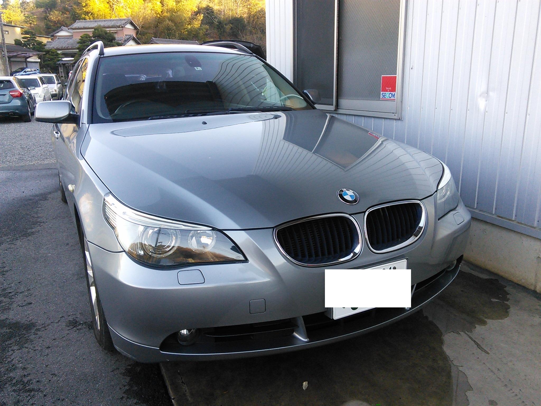 BMW E61キーレスが効かない トランクオープナーでリヤガラスあかない