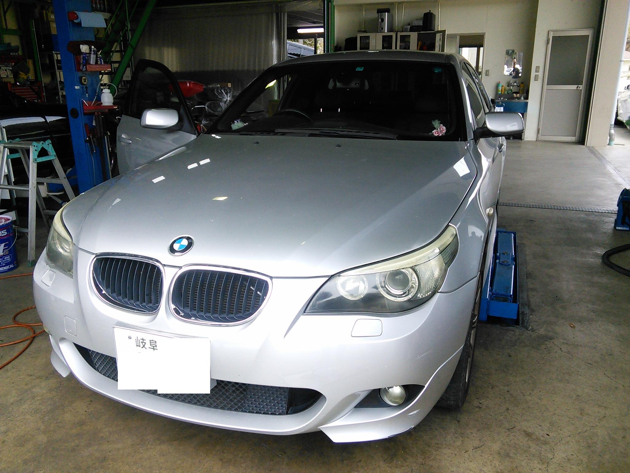 BMW E60 AT警告点灯 エマージェンシモードになり変速しない