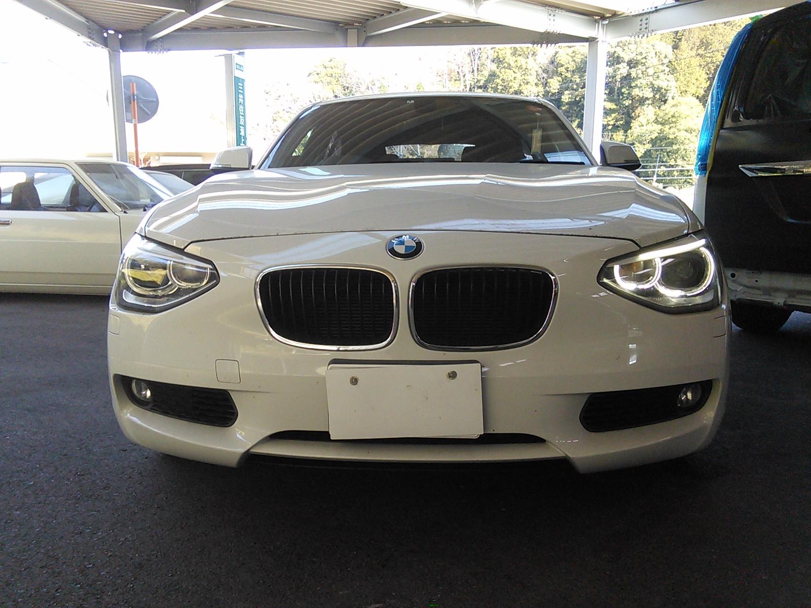 BMW F20 たかがウインカー点灯しない 診断には専用診断機必須