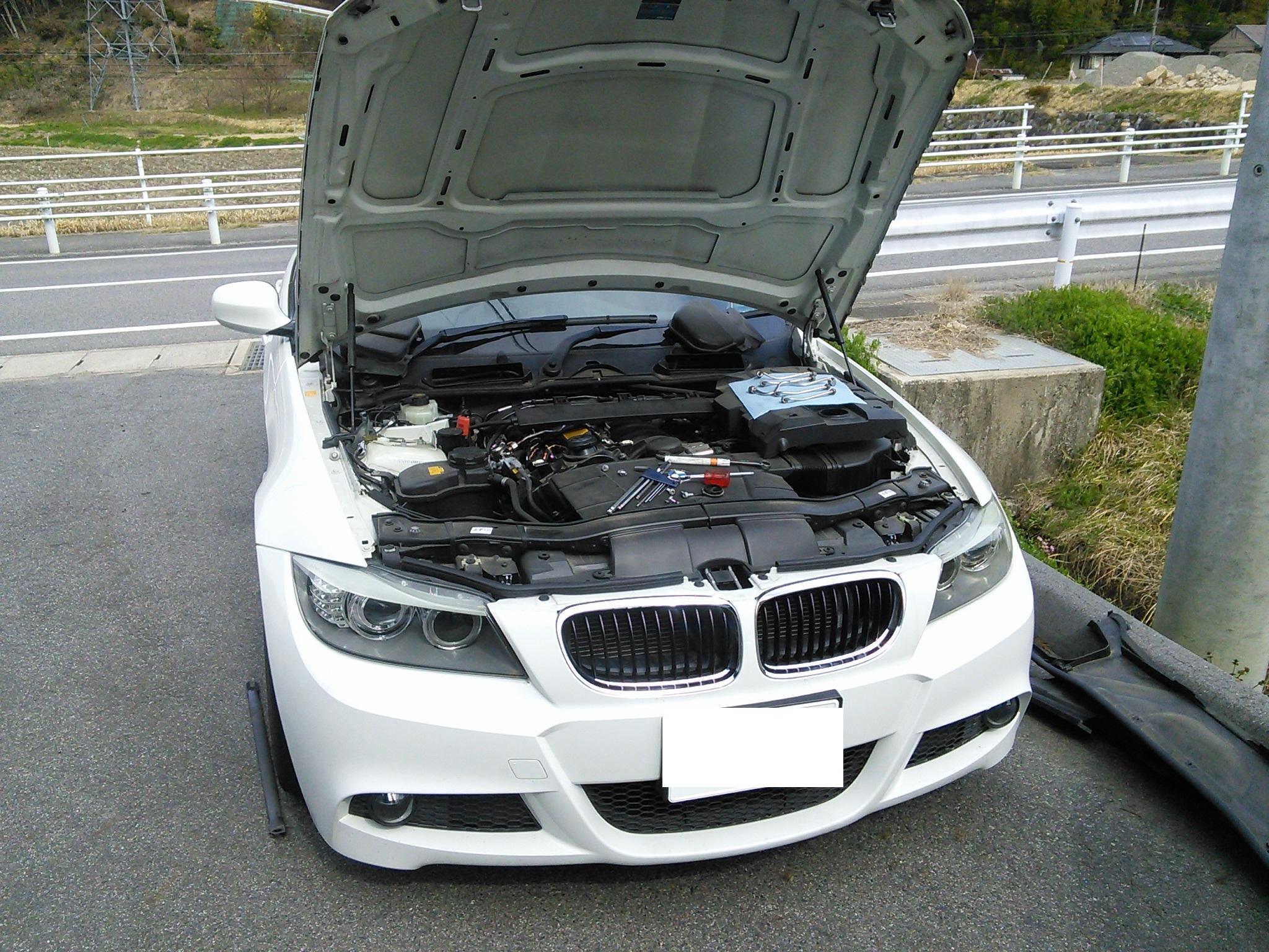 BMW E90 エンジン不調 高圧インジェクター交換