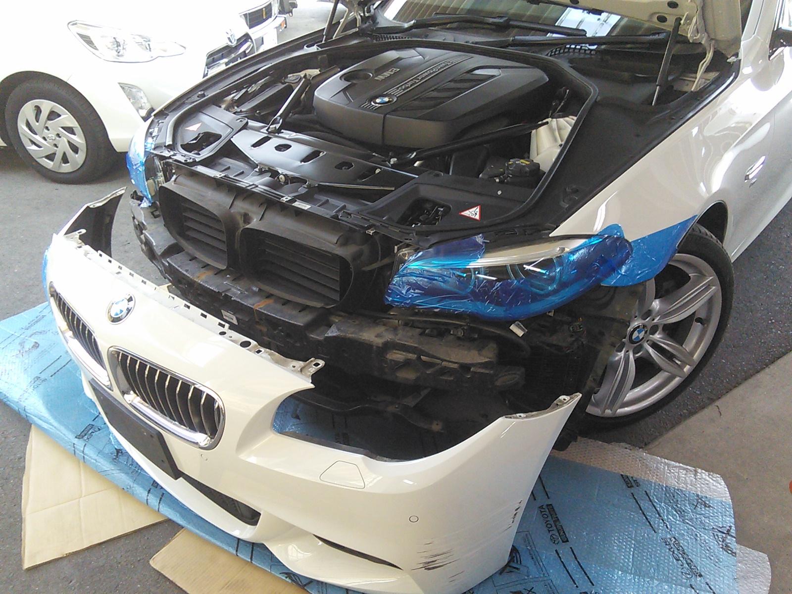 BMW祭り 今回はM3 フェンダー交換  豊田市  板金塗装